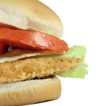 a picture of a chicken sandwich